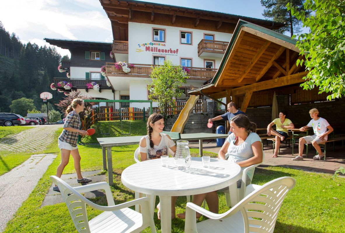 Jugendpension Müllauerhof in Saalbach Hinterglemm